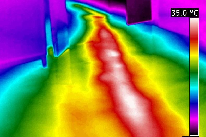 termografia sversamenti